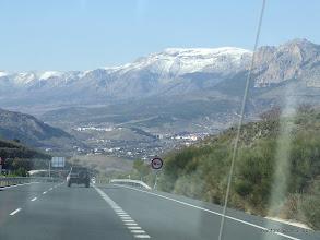 Photo: Még mindig spanyolország, 3 héttel késöbb már a tengerparton is hó volt