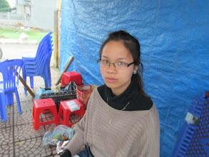 """Photo: """"Ms.Lê Thị Hiền 1. Số hiệu(ID member): 15042012 2. Tuổi(Age): 22 3. Địa chỉ(Address): Cụm 30 - Thôn Liên Bình - TT Hợp Hòa,Tam Duong District, Vinh Phuc province, Vietnam. 4. Thông tin gia đình(Household's information): Gia đình TV có 03 khẩu, 02 lao động chính, 02 vợ chồng bán hàng nước (Member's family has 03 people, 02 main labors, she and her husband run a drink kiosk) 5. Ngày vay(Date of loan): 02-04-2015 6. Mức vay(Loan size): 8.000.000đ 7. Mục đích vay(Loan purpose): Bán hàng/small trade"""""""