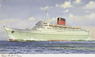 Photo: CARONIA (CUNARD WHITE STAR LINE)