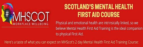 Scotland's Mental Health First Aid 2-Day Course - Nov 2020