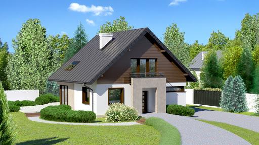projekt Dom przy Cyprysowej 7