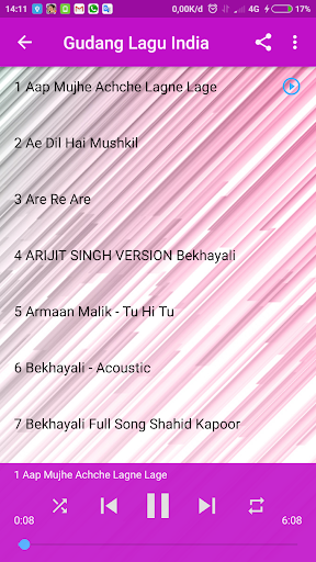 Gudang Lagu Mp3 : Lagu India Offline Terlengkap screenshots 3