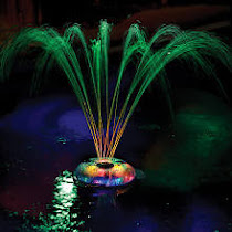 Underwater Light Show & Fountain