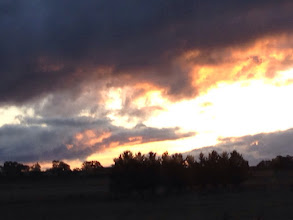 Photo: Day 6: Beautiful sunset on the way back to Moss Vale