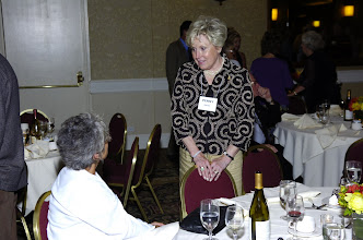 Photo: Penny Grund, Lee's wife with Margie Allison, Jim's wife