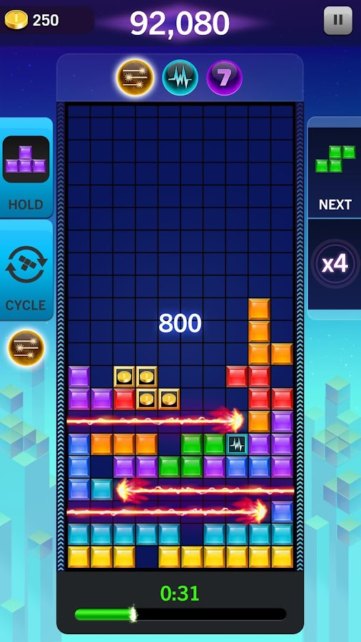 TETRIS® Blitz: 2016 Edition- screenshot