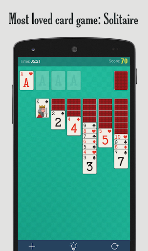 Solitaire  gameplay | by HackJr.Pw 1