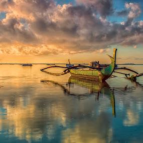 .:: symphony of reflection ::. by Setyawan B. Prasodjo - Transportation Boats