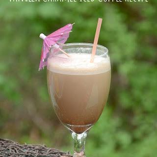 Vanilla Caramel Iced Coffee.