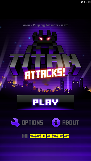 Titan Attacks!- screenshot thumbnail