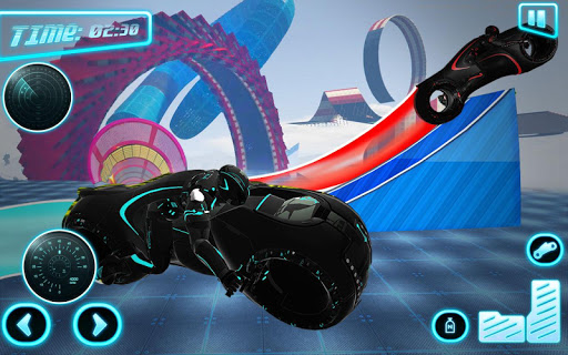 Tron Bike Stunt Racing 3d Stunt Bike Racing Games 101 gameplay | by HackJr.Pw 7