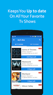 App My Tv Box: Tv Shows Reminder APK for Windows Phone