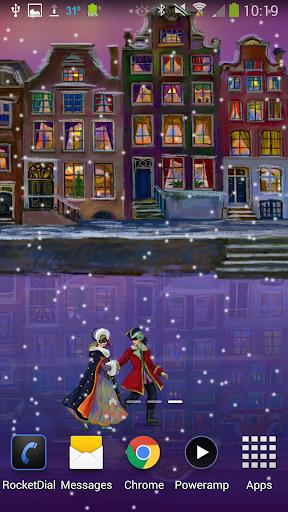Christmas Rink Live Wallpaper screenshot 5