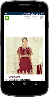 SareesBazaar NZ - Online Indian Clothing Shopping- screenshot thumbnail