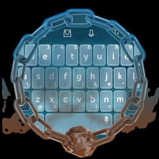 不気味な青いです TouchPal 個人化 App LOGO-硬是要APP