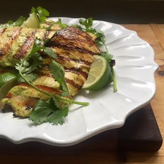 Coriander-Lime Grilled Chicken.
