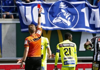 Le Buffalo Louis Verstraete manquera la rencontre face à Zulte-Waregem