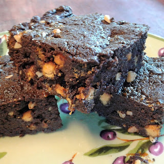 Chocolate Butterscotch Brownies.