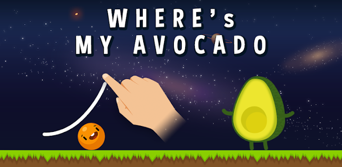 Where's My Avocado? Draw lines