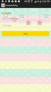 Expense Tracker screenshot