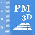 Partometer3D - camera measure icon