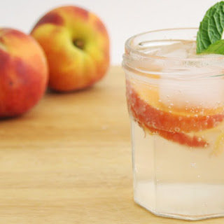 Homemade Ginger-Peach Soda