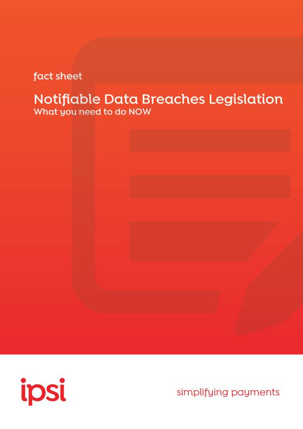 Data Breach Legislation Fact Sheet