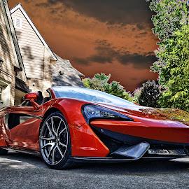A.C.'s McLaren by JEFFREY LORBER - Transportation Automobiles ( rust 'n chrome, mclaren, convertible, lorberphoto, sports car )
