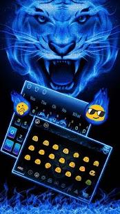 Blue Flame Tiger - náhled