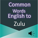 Common Words English to Zulu icon