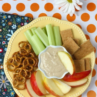 Peanut Butter Yogurt Banana Dip