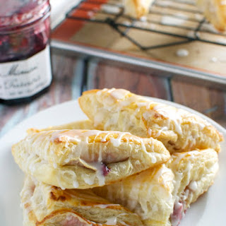 Cherry Cream Cheese Turnovers