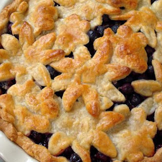 Blueberry Pie With Sweet Almond Crust