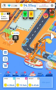 Idle Port Tycoon Mod Apk Download For Android and Iphone 7