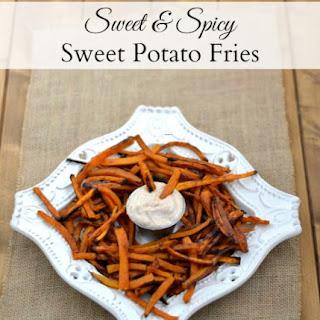 Sweet & Spicy Sweet Potato Fries