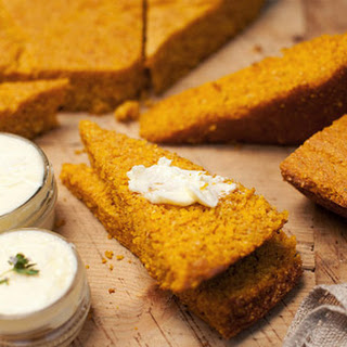 Pumpkin Corn Bread.