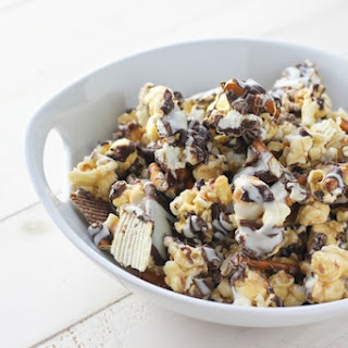 Potato Chip Pretzel Caramel Corn