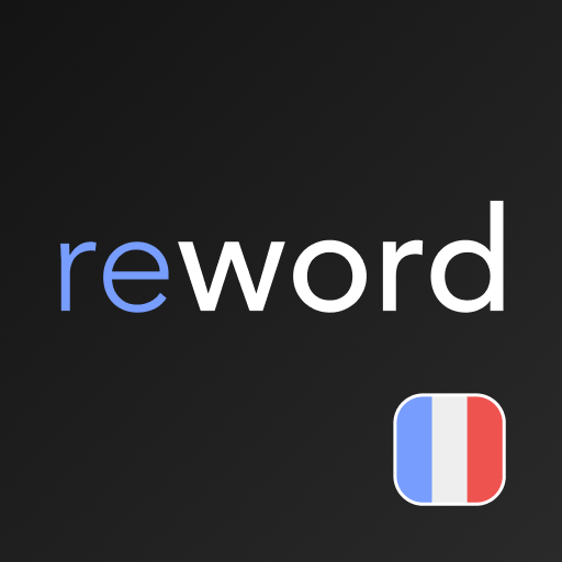 French Words. Flash Cards. Vocabulary builder Icon