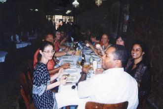 Photo: Almoço de confraternização.
