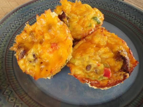Brunch Or Lunch Baby Omelet Muffins