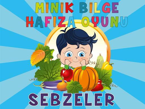 Minik Bilge Hafıza - Sebzeler