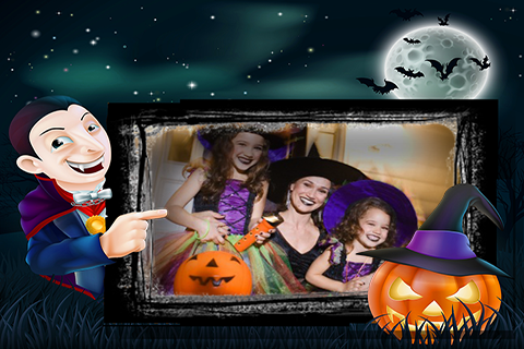 Halloween Party Photo Frames