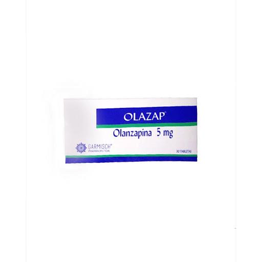 Olanzapina Olazap 5 mg x 30 Tabletas
