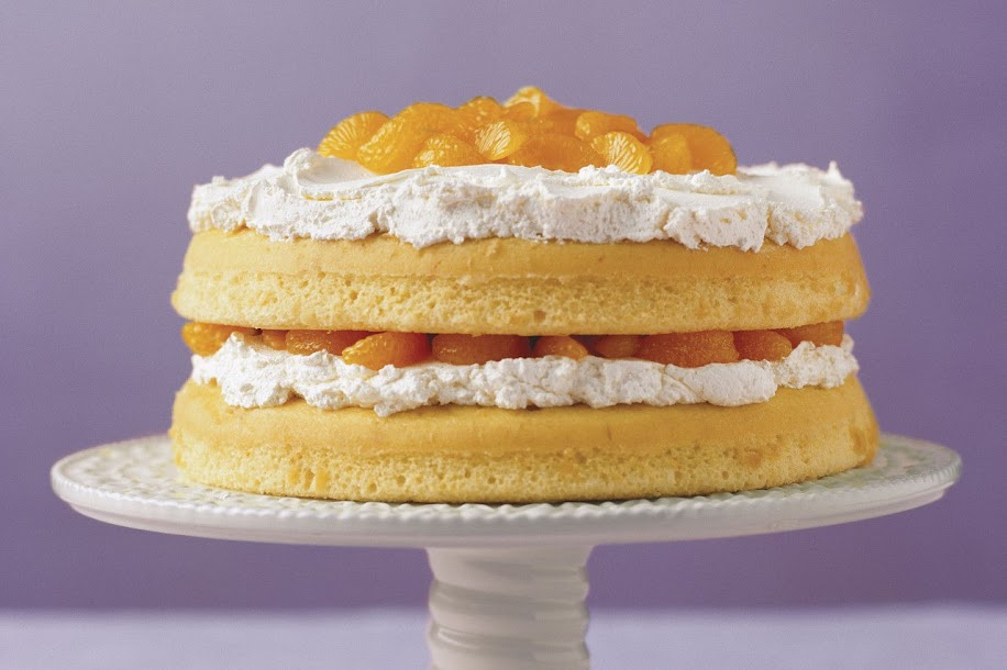 Naked Cakes: Simply Citrus Cream Cake