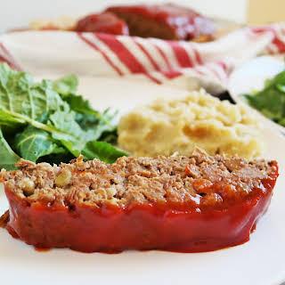 Homemade Vegan Meatloaf.