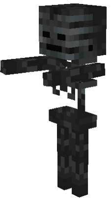 The Wither Skeleton from the snapshot 12w36a.