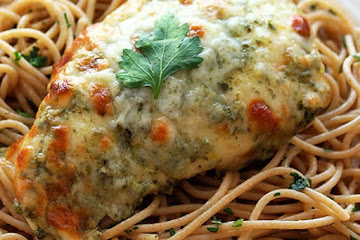 Chicken Pesto Parmesan