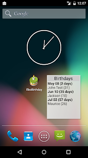 The best free apps for Android Birthday