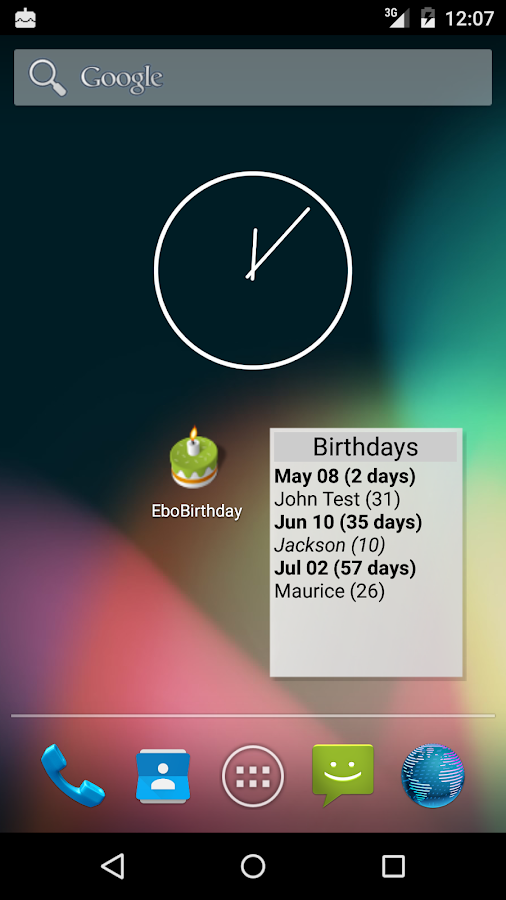 EboBirthday- screenshot