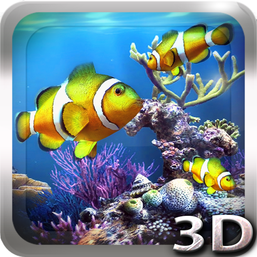 Clownfish Aquarium 3D FREE